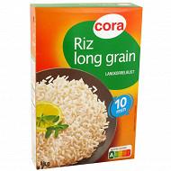 Cora riz long grain étuvé 10min 1kg