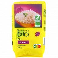 Nature bio riz basmati 500g