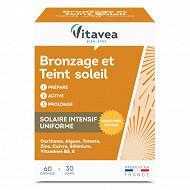 Vitavea optima bronzage et teint soleil 60 capsules 29g