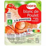 Cora blanc de poulet à la provençale 4 tranches 120g
