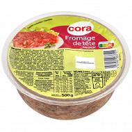 Cora fromage de tête 500g