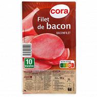 Cora filet de bacon 10 tranches 100g