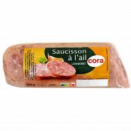 Cora saucisson à l'ail biseau 300g
