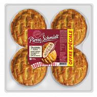Pierre Schmidt feuilleté jambon champignons 4x150g 600g