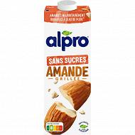 Alpro lait d'amande non sucré avec calcium & vitamines ajoutés 1l