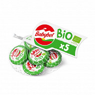 Mini babybel bio filet x5 100g