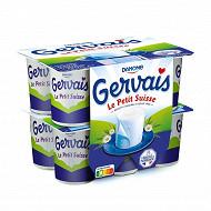 Gervais le petit suisse nature 9.5%mg 12x60g
