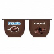 Danette chocolat 4x125g