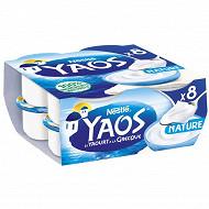 Yaos le yaourt à la grecque nature 8x125g