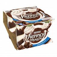 Nestlé Le Viennois mousse dessert lacté au chocolat 4x90g
