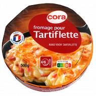 Cora fromage pour tartiflette  au lait pasteurisé 27%mg 500g