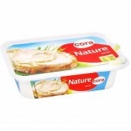 Cora spécialité fromagère nature au lait pasteurisé à tartiner 18,5%mg 150g