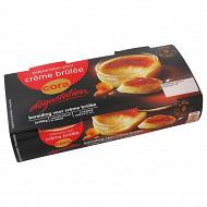 Cora dégustation préparation pour crème brûlée 2x100g