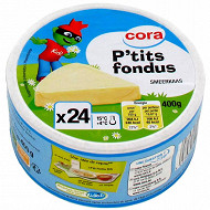 Cora kido fromage fondu 24 portions 19.5% MG 400 g