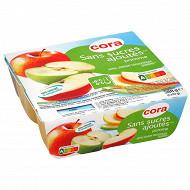 Cora spécialité de pommes 4x97g sans sucres ajoutés