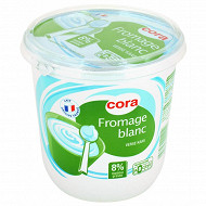 Cora fromage blanc 8% MG 1kg
