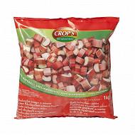 Rhubarbe rouge 1kg crop's