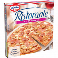 Dr Oetker pizza ristorante royale jambon, fromage champignons 350g