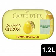 Carte d'Or bac crème glacée citron 1200ml - 780g