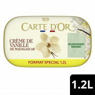 Carte d'Or glace bac crème de vanille 1.2L - 629g