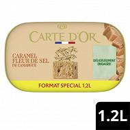 Carte d'or bac crème glacée caramel fleur de sel 1200ml - 640g