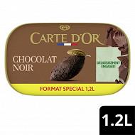 Carte d'or bac crème glacée chocolat noir 1200ml - 644g