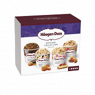 Haagen dazs collection mini pot 4X95ML - 324g