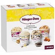 Haagen dazs mini pot vanilla collection 4X95ML - 321g