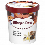 Haagen dazs obsession collection vanille caramel brownie pot 460ml 386g