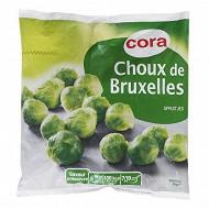 Cora choux de bruxelles 1kg
