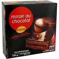 Cora dégustation miroir au chocolat 550g