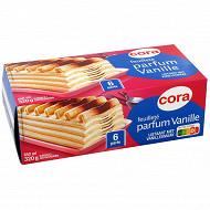 Cora dessert glacé vanille 650ml - 320g