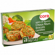 Cora palets choux fleurs brocolis carottes 300g
