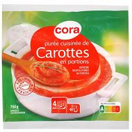 Cora purée cuisinée de carottes 750g