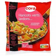 Cora poêlée de légumes haricots, pomme de terre, carottes, lardons et champignon de Paris 1kg