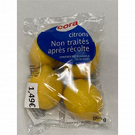 Citron jaune cora 4 fruits