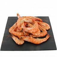 Crevettes entières cuites réfrigérées 30/50 en 1 kg