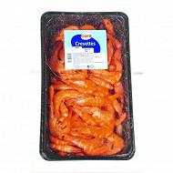 Cora crevettes roses cuites Cal. 30/50 barquette 1kg