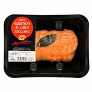 Cora dégustation farci saumon et noix de Saint Jacques 450g