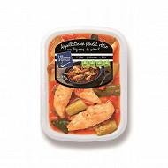 Aiguillette de poulet rôtie aux légumes du soleil 900g