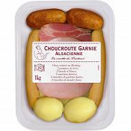 Choucroute garnie 2/3 personnes 1kg