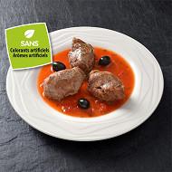 Joue de porc sauce provençale aux olives