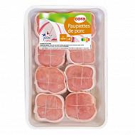 Paupiettes de porc 8x125g Cora
