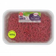 Viande hachée vrac 20% 600g Cora