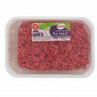 Cora viande hachée pur boeuf 20% mg 350g