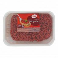 Cora Préparation viande hachée spécial bolognaise 20% mg 350g