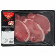 Cora dégustation côte première de porc Label Rouge x4