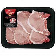 Côtes de porc premières x 6 Label Rouge Cora dégustation
