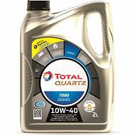 Huile total quartz 700 10w40 essence 2l