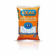 Axal pastilles de sel pour adoucisseur d'eau sac 25 kg